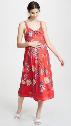 Yumi Kim Maternity Midi Dress