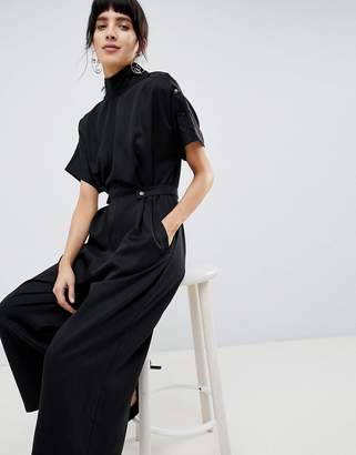 Asos Jumpsuit With High Neck