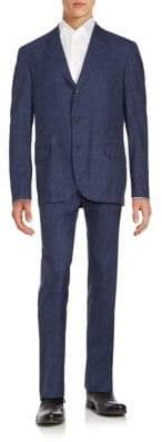 Brunello Cucinelli Blended Wool Suit