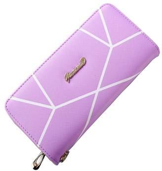 at Amazon Canada · Happyear Women Clutch Wallet, Leather Long Wallet Credit Card Holder Purse Pattern Handbag