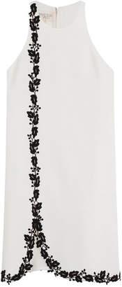 Giambattista Valli Embroidered Crepe Dress