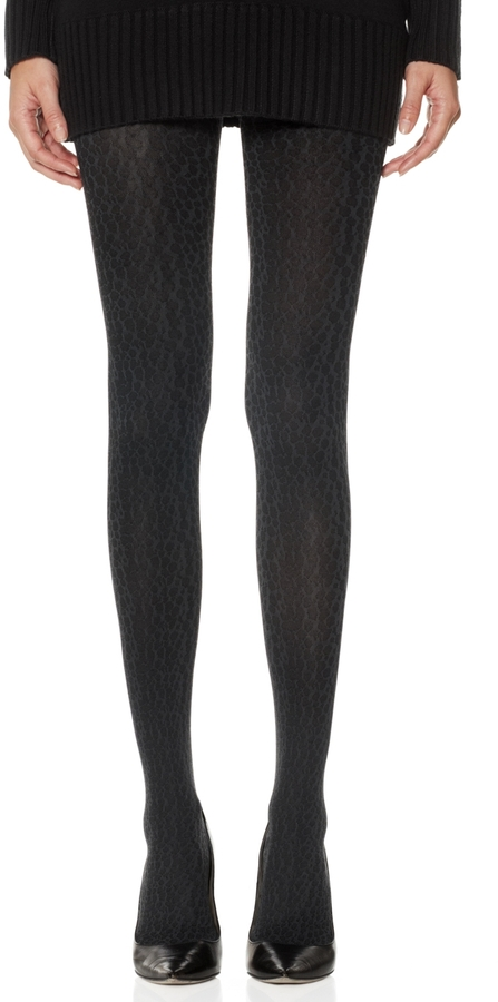 The Limited Leopard Patterned Tights
