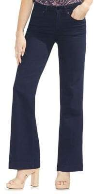 Vince Camuto High-Rise Wide-Leg Jeans