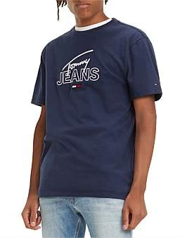 Tommy Jeans Tjm Tommy Script Tee