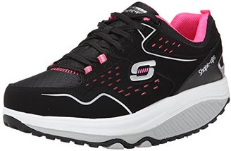Skechers Women's Shape Ups 2.0 Perfect Comfort Fashion Sneaker $100 thestylecure.com