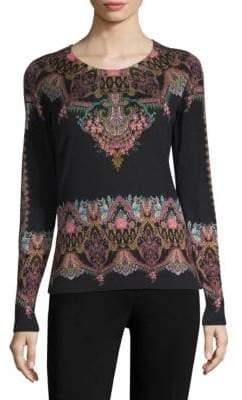 Etro Silk-Cashmere Pullover