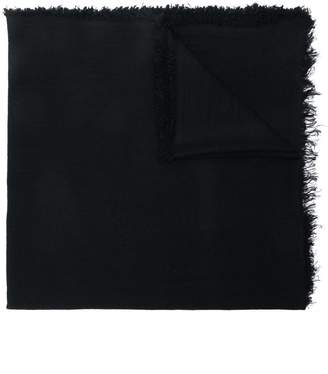 Ann Demeulemeester frayed oversized scarf