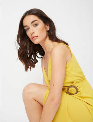 George Mustard V-Neck Wrap Dress