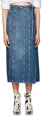 MM6 MAISON MARGIELA Women's Denim Wrap Skirt