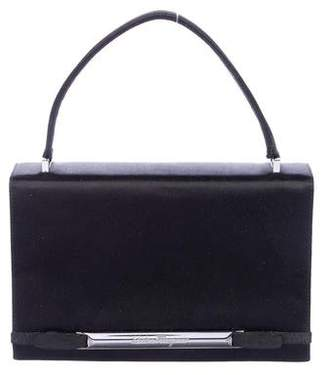 Pre-Owned at TheRealReal · Salvatore Ferragamo Grosgrain-Trimmed Satin  Evening Bag 90003c7d48e06