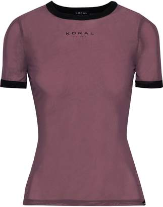 Koral Stretch-mesh T-shirt
