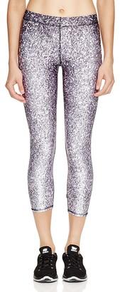 Zara Terez Glitter Print Capri Leggings - Bloomingdale's Exclusive $75 thestylecure.com
