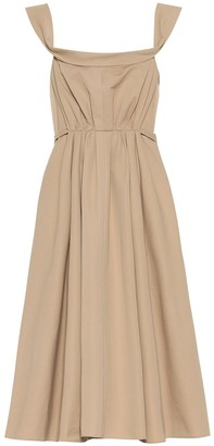 Brock Collection Patti cotton midi dress