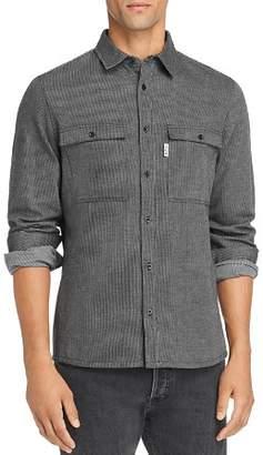 A.P.C. Surchemise Enrico Striped Shirt Jacket