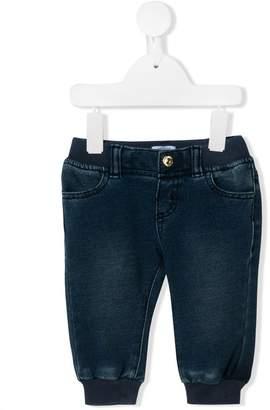 Moschino Kids teddy logo jeans