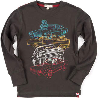 Appaman Car Stack Graphic Top, Size 2-10