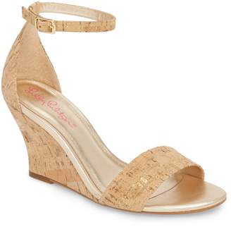 Lilly Pulitzer R) Bridgette Wedge Sandal