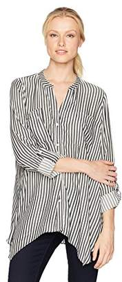 Jones New York Women's Easy Tunic Button up