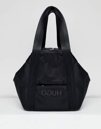 HUGO Logo Nylon Bag