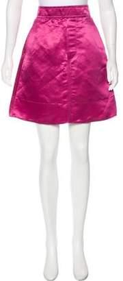 Marc Jacobs Linen-Blend Skirt