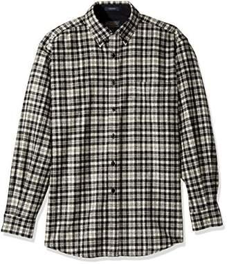 Pendleton Men's Long Sleeve Button Front Classic-fit Fireside Shirt