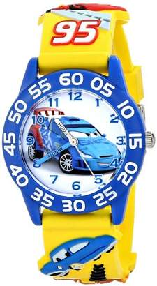 "Disney Kids' W001507 ""Time Teacher Cars Watch With 3-D Band"