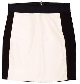 Mason Colorblock Mini Skirt