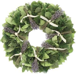 Floral Treasure Lavender Sachet Wreath