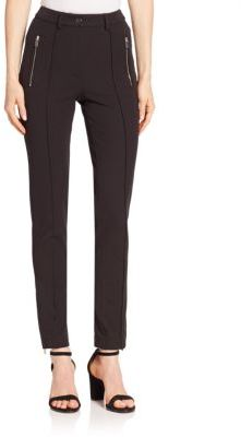 Michael Kors Collection Zip Pocket Skinny Pants $695 thestylecure.com