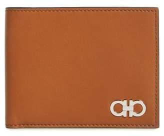 Salvatore Ferragamo Calfskin Leather Bifold Wallet