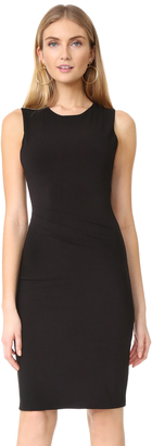 alice + olivia Delores Side Pleated Tank Dress $265 thestylecure.com