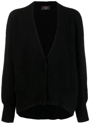Maison Flaneur cashmere knitted v-neck cardigan