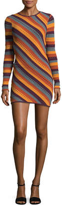 Ronny Kobo Jules Striped Dress