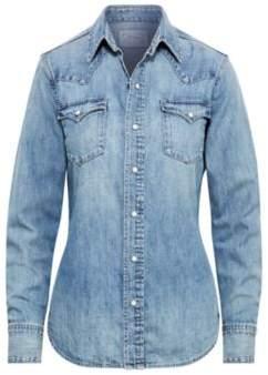Ralph Lauren Denim Western Shirt Medium Indigo S