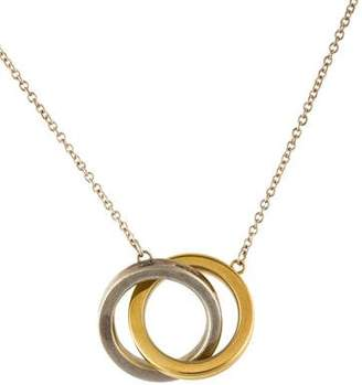 Tiffany & Co. 1837 Interlocking Circles Pendant Necklace