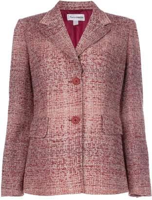 Pierre Cardin Pre-Owned boucle knit jacket