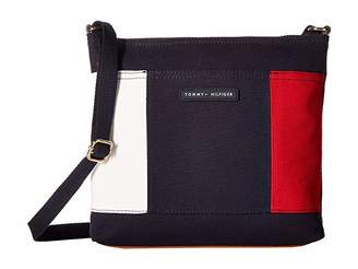 Tommy Hilfiger TH Flag Large North/South Canvas Crossbody