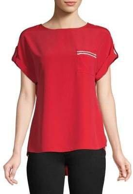 Dorothy Perkins High-Low Pocket Tee