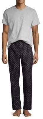 Calvin Klein Two-Piece Logo Pajama Set