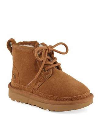 UGG Neumel Suede Lace-Up Boots, Toddler/Baby