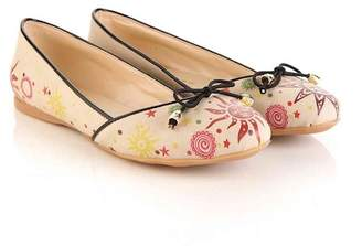 Goby Bow Tie Print Slip-On Flat