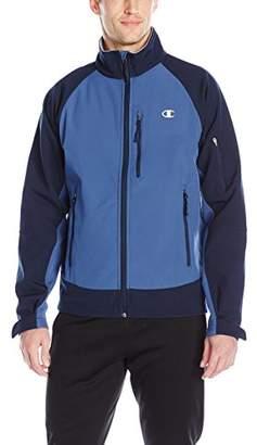 Champion Men's Mock Neck Soft-Shell Jacket