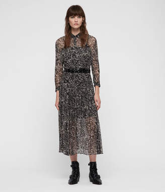 AllSaints Eley Rosey Dress