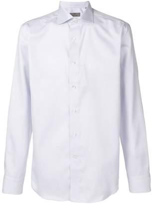 Canali micro check shirt
