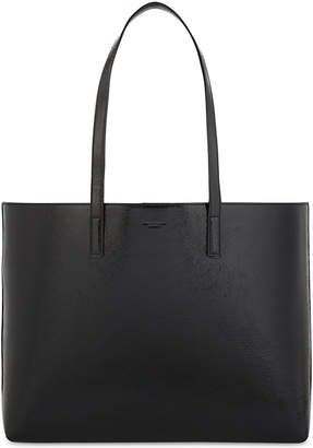 Saint Laurent Shopping patent-leather tote bag