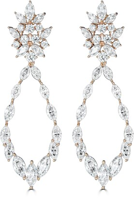 Thomas Laine Marquise Statement Earrings