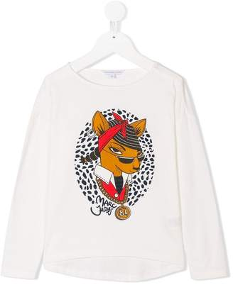 Little Marc Jacobs character print long sleeve top