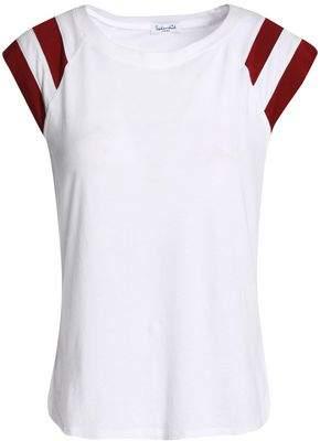 Splendid Varsity Active Striped Cotton And Modal-Blend Jersey T-Shirt