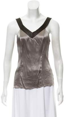 Proenza Schouler Sleeveless Satin Top
