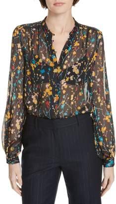 Equipment Cornelia Print Silk Blouse